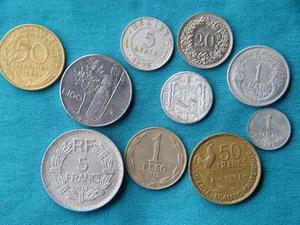 Lote 2: Antiguas Monedas De Diferentes Paises