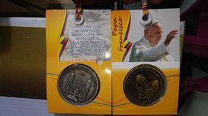 Moneda Conmemorativa Del Papa Venta Por Mayor Y Detal