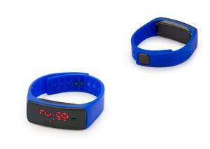 Reloj Led Digital De Silicona Deportivo Azul