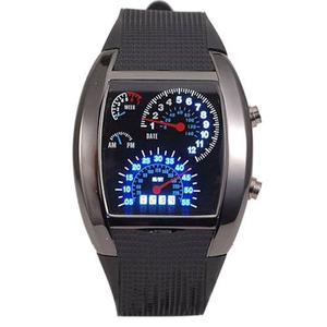 Reloj Led Hombre Digital Air Tacometro Velocimetro Unisex