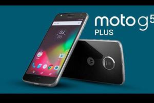 Celular Motorola Moto G5 Plus Gris 32 Gb