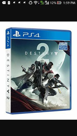 Destiny 2 Ps4 Nuevo