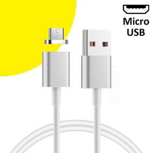 Cable Magnetico Micro Usb Android 1m 2.4a Resistente