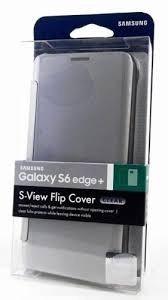 Estuche Clear S View Cover Flip Samsung S6 Edge Plus Origin