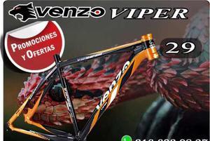 Marco Mtb Aluminio Venzo Viper Rin 29