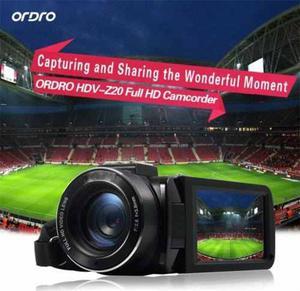 Ordro Hdv-zp 3.0 Lcd Wifi Cámara De Vídeo Digital