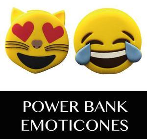 Power Bank Batería Portátil Emoticones - Emojis  Mah