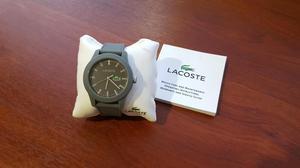 Reloj Lacoste  gris original NUEVO