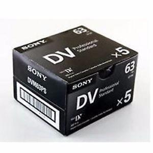 Sony Mini Dv Professional Standard Video Cassette Caja X 5u