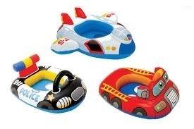 Flotador Para Bebes Y Niños Policia Bombero Avion Piscina