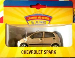 Carro A Escala 1:43 Chevrolet Spark Color Beige.