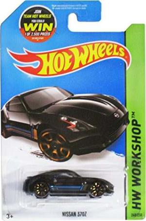 Juguete Hot Wheels,  Hw Workshop, Nissan 370z [black] D