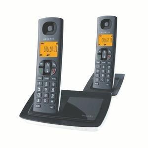 Teléfono Inalámbrico Alcatel Versatis E100 Duo Dect 6.0