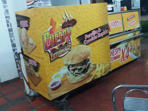 Vendo equipos para restaurante de comidas rápidas y asados