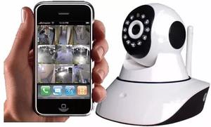 camara ip robotica wifi vigilancia nocturna hogar y oficina