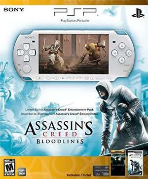 Credo Psp  Edición Limitada De Creed Bloodlines Enterta