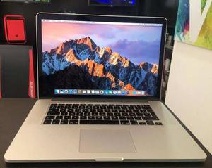 Macbook Pro Retina  Core I7 8gb 256gb Ssd 15.4 Pulgs