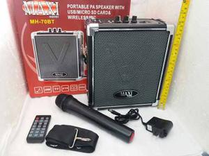 Parlante Usb Bluetooth Con Micrófono Inalambrico