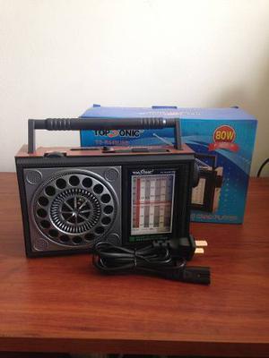 Radio Parlante Con Reproductor Usb/micro Sd