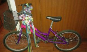 Vendo Bicicleta para Niña, Como Nueva