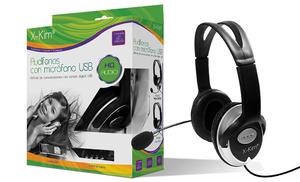 Audífonos Con Micrófono Usb Hf868u
