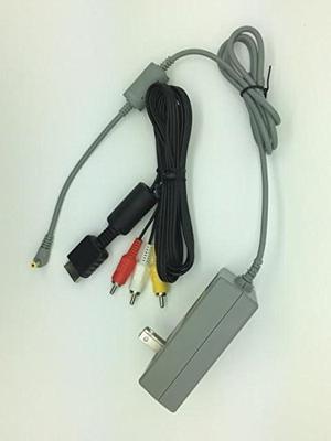 Combo Adaptador De Ca Cable De Alimentación Y Cable Av Para