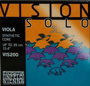 Encordado Para Viola Marca Thomastik Vision Solo