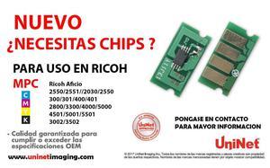 chip toner ricoh