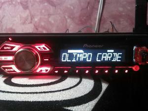Radio Pioneer con Puerto Usb Aux Mp3