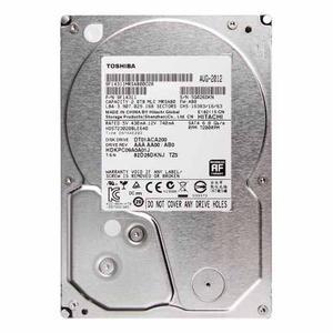 Disco Duro Interno 3.5 Para Pc Toshiba 2tb - Gris