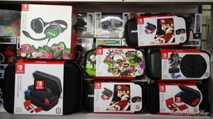 Estuches Nintendo Switch