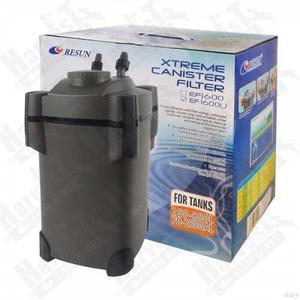 Filtro Para Acuario De Canasta Resun Ef- Con Luz Uv