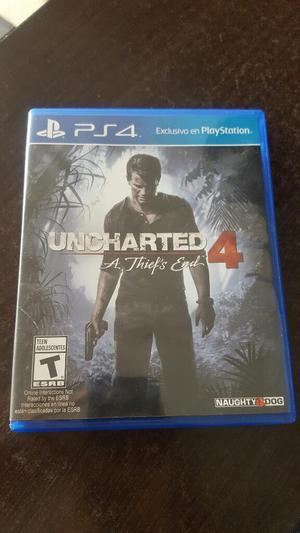 Juego Uncharted 4 para Ps4 Como Nuevo