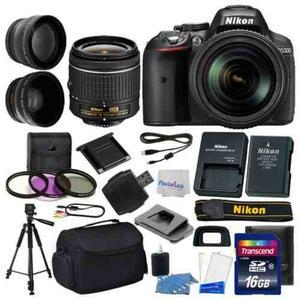 3 De Cámara Nikon D Digital Slr Lente mm Vr + 16