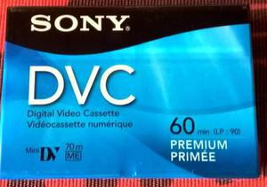Cassette Video Dvc Mini Dv