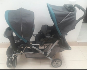 Coche Doble Para Gemelos Graco Duoglider Classic Dragonfly
