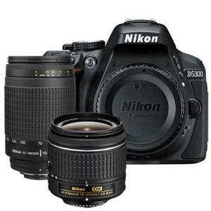 Nikon D Digital Slr Cuerpo + 2 Lente Kit  Mm Vr +
