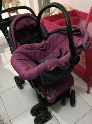 Se vende coche para bebe con silla bogot posot class for Coches de bebe con silla para auto