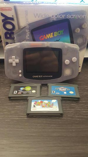 Gameboy Advance 3 Juegos