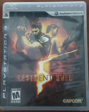 Juego Resident Evil 5 Ps3 Original