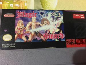 Magic Sword para Super Nintendo