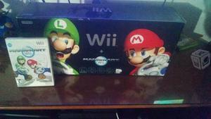 Nintendo Wii Mario Kart Edición Negra Como Nueva