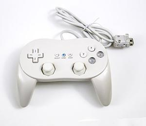 Old Skool Wii Classic Pro Controller Para Wii Y Wii U Blanco