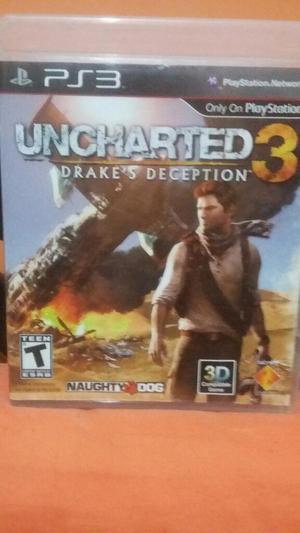 Uncharted 3 para Play 3