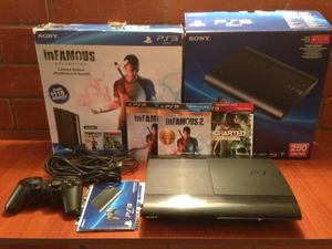 Vendo Ps3 Super Slim con Juegos