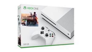Xbox One S 500gb 4k Wifi Hdr Battlefield 1 Nueva Sellada