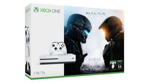 Xbox One S 500gb Halo 5 Y Halo Master Chief Nueva 4k
