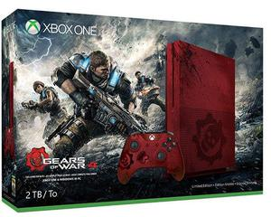 Xbox One S Gears Of War 4 Edicion Limitada 2tb