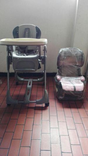 silla y comedor para bebe