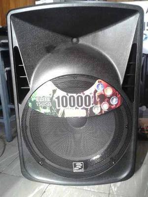 Cabina Amplificada 3g Audio Elite15usb Con Usb Y Bluetooth